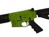 Bacon Maker AR-15 in Zombie Green Cerakote