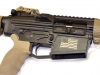 Death Dealer .308 in Black and Flat Dark Earth Cerakote with Betsy Ross Flag and