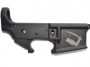 Bacon Maker AR-15 lower receiver with Dimmit's Goliad Flag